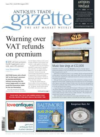 Antiques Trade Gazette issue ATG Issue 2152 (DI)