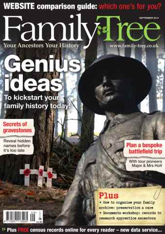 Family Tree issue Family Tree September 2014
