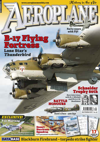 Aeroplane issue No.461 B-17 Flying Fortress