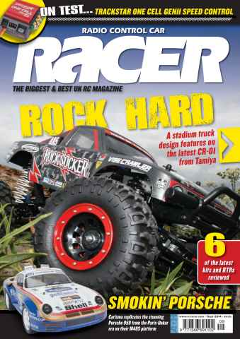 Radio Control Car Racer issue Sep-14