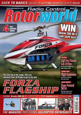 Radio Control Rotor World issue Sep-14