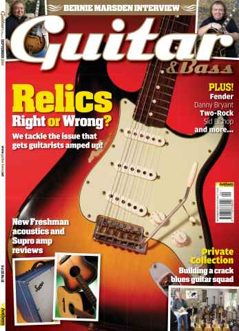 Guitar & Bass Magazine issue Sep-14