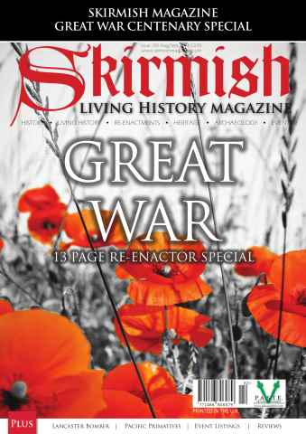 Skirmish Living History issue Skirmish Magazine Issue 107