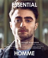 Essential Homme issue August-September 2014