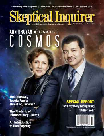 Skeptical Inquirer issue Sept/Oct 2014