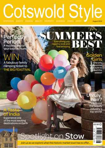 Cotswold Style issue Cotswold Style August 2014