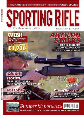 Sporting Rifle issue September 2014