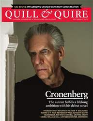 Quill & Quire issue SEPTEMBER 2014