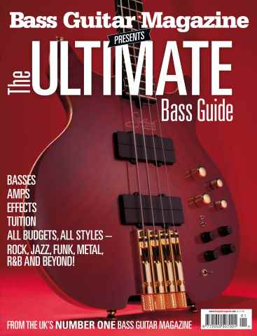 Bass Guitar issue The Ultimate Bass Guide