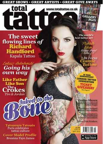 Total Tattoo issue September 2014