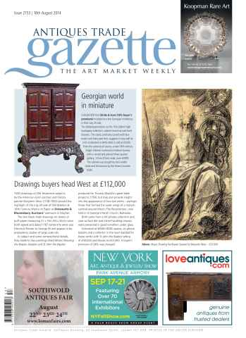 Antiques Trade Gazette issue ATG Issue 2153