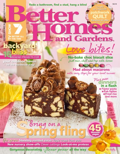 Better Homes and Gardens Australia Magazine October 2014