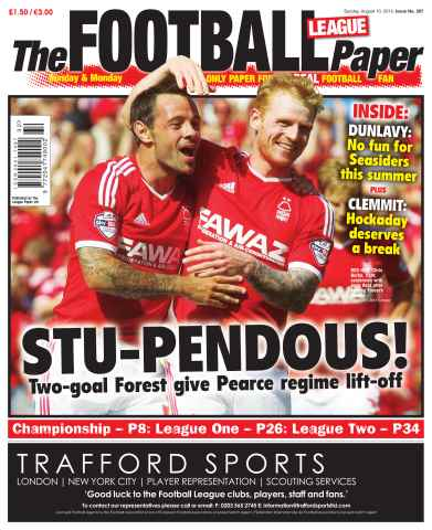 The Football League Paper issue 10th August 2014