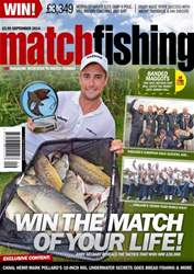 Match Fishing issue September - 2014