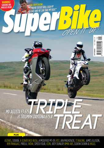 Superbike Magazine issue September 2014