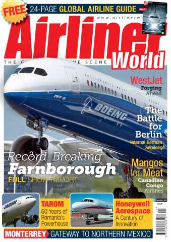 Airliner World issue September 2014