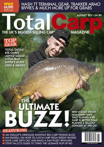 Total Carp issue August 2011