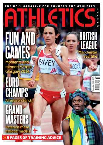 Athletics Weekly issue 14/08/2014