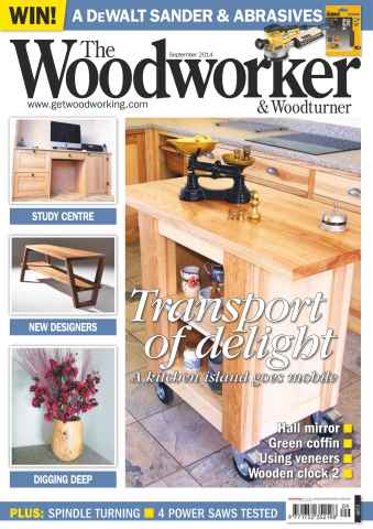 The Woodworker Magazine issue September 2014