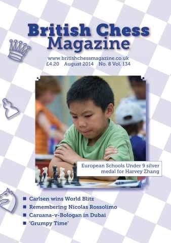 British Chess Magazine issue August 2014