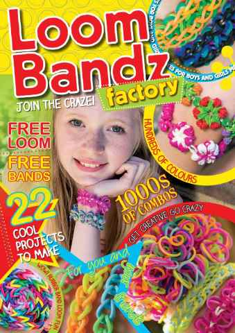 Making Jewellery issue Loom Bandz Factory