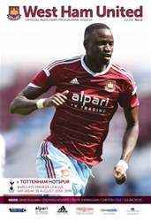 West Ham Utd Official Programmes issue V SPURS 2014/15