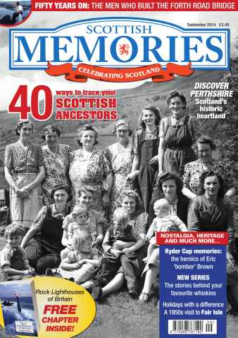 Scottish Memories issue September 2014