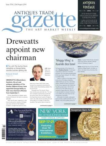 Antiques Trade Gazette issue ATG Issue 2154