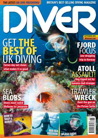 DIVER issue SEPTEMBER 2014