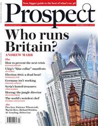 Prospect Magazine issue September 2014