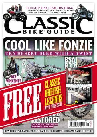 Classic Bike Guide issue September 2014
