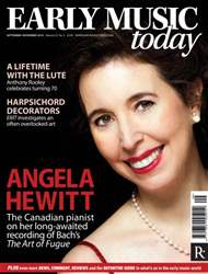 Early Music Today issue Sept - Nov 2014