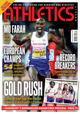 Athletics Weekly issue 21/08/2014