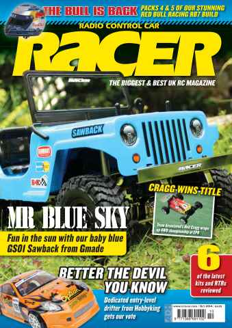 Radio Control Car Racer issue Oct-14