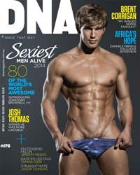 DNA Magazine issue # 176 - Sexiest Men Alive