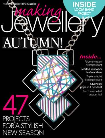 Making Jewellery issue September 2014