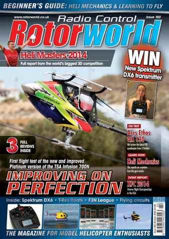 Radio Control Rotor World issue Oct-14