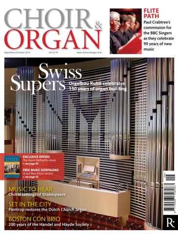 Choir & Organ issue Sept - Oct 2014