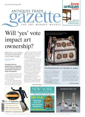 Antiques Trade Gazette issue ATG Issue 2155