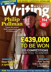 Writing Magazine issue Competition Special - October 2014