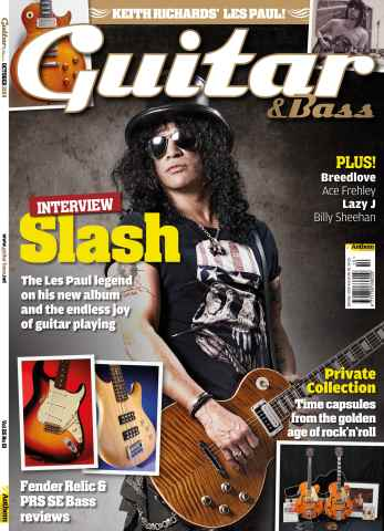 Guitar & Bass Magazine issue Oct-14