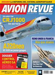 Avion Revue Internacional España issue Número 344 Febrero 2011