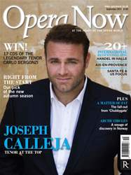 Opera Now issue September 2014