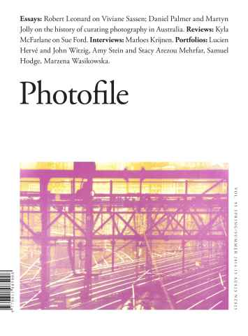 Photofile issue  Summer 2014-15