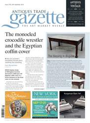 Antiques Trade Gazette issue ATG Issue 2156