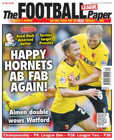 The Football League Paper issue 31st August 2014