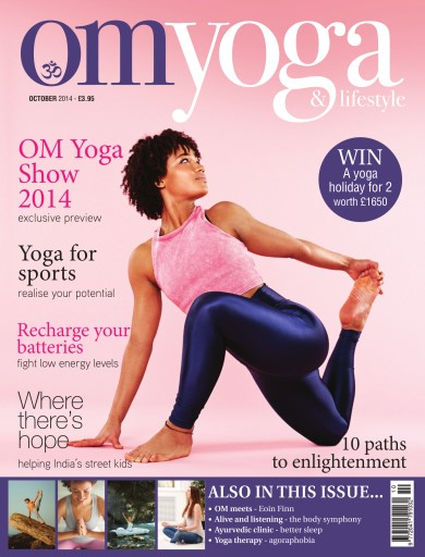 OM Yoga UK Magazine issue Oct-14