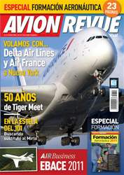Avion Revue Internacional España issue Número 349 Julio 2011