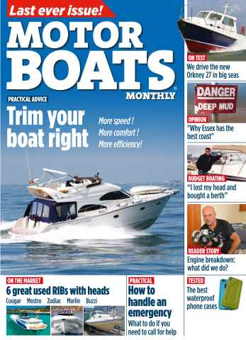 Motor Boats Monthly issue Oct-14