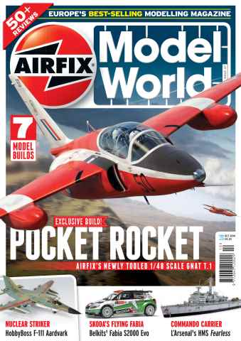 Airfix Model World issue October 2014